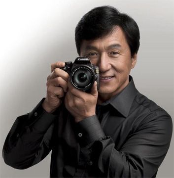 Atomic Vision: Photography Cinema Visual Arts: Celebrities And Their Cameras: Jackie Chan