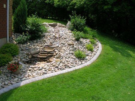 Landscape Edging For Slopes Landscaping Toronto Companies