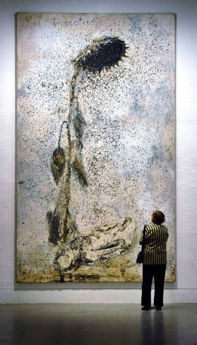 Anselm Kiefer - Sol invictus...always liked his stuff!                                                                                                                                                                                 More