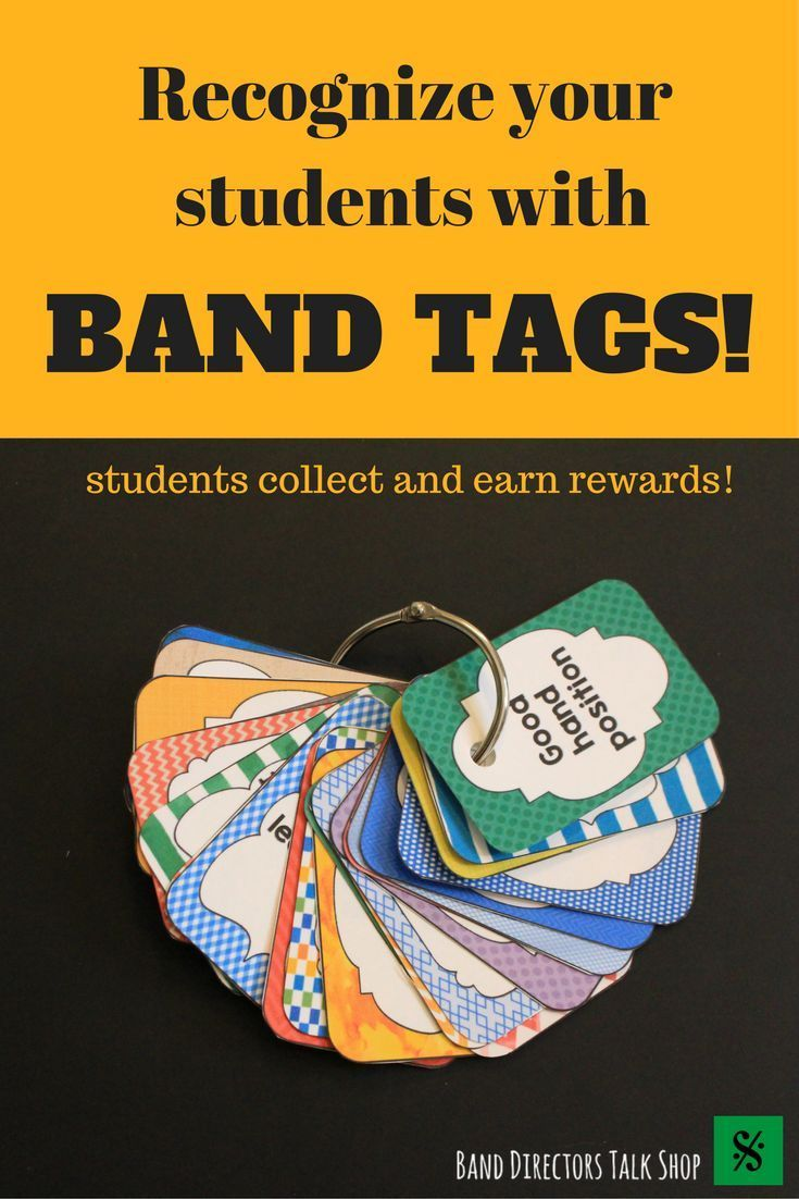 Band Tags For Beginning Band Motivation Music Music