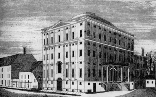 Andrew Dexter Builds the 1st Skyscraper and Causes the 1st Bank Collapse - http://www.newenglandhistoricalsociety.com/andrew-dexter-builds-the-1st-skyscraper-and-causes-the-1st-bank-collapse/
