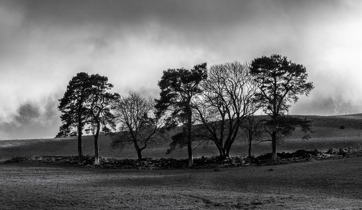Up On The Highlands - #stylianosphotography #clouds #black&white #blackandwhitephotography #stylianos_photography  #travel #traveller #travelling #traveling #tourism #tourist #landscape #landscapes #photography #photographer #night #highlands #sky  #light #sunlight #sunrays Clouds #scotland #highlandsmountains