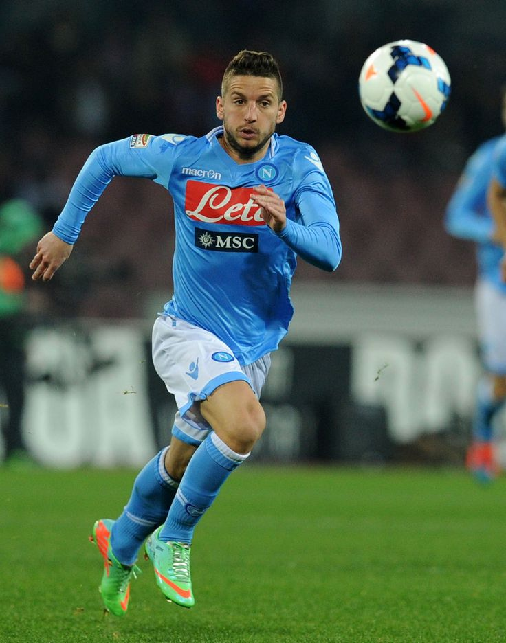 Dries Mertens of SSC Napoli