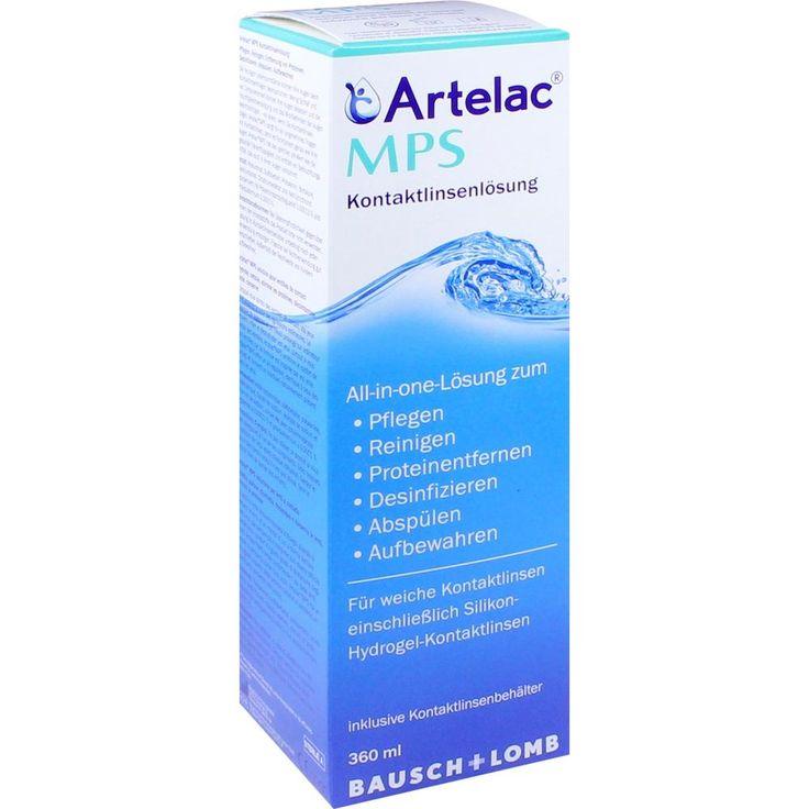 ARTELAC MPS Kontaktlinsenlösung:   Packungsinhalt: 360 ml Lösung PZN: 10853442 Hersteller: Dr. Gerhard Mann Preis: 10,12 EUR inkl. 19 %…