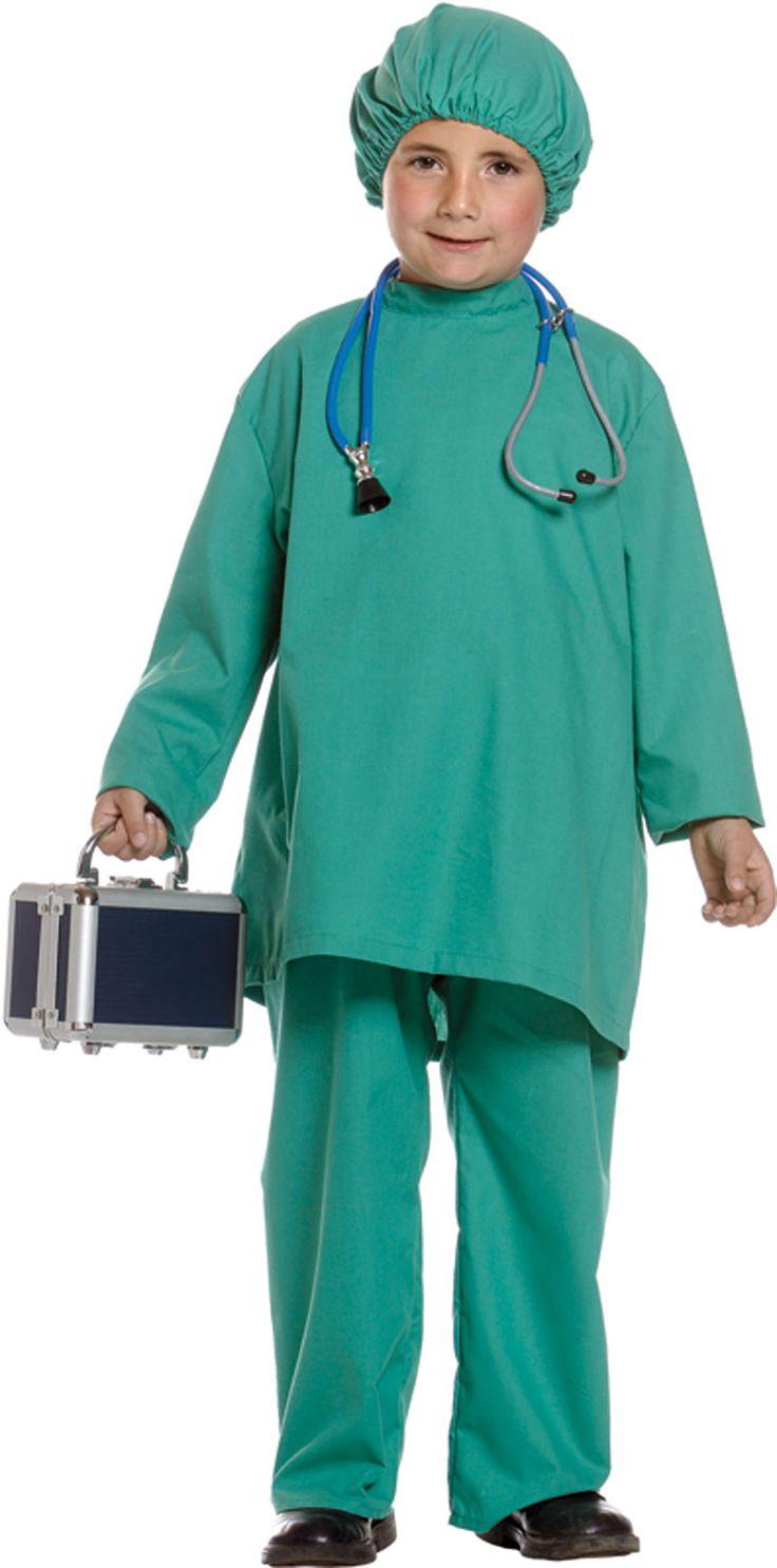 disfraces de medicos para niños