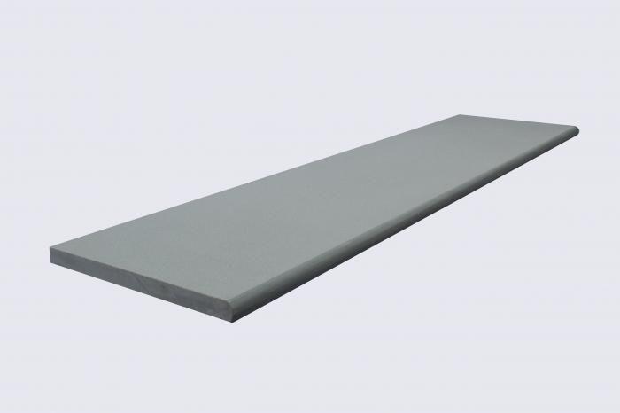 Contemporary Grey Bullnose Steps