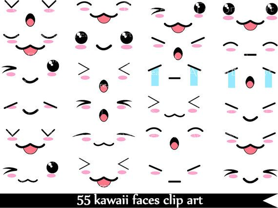 Best 25 Kawaii Faces Ideas On Pinterest Drawings