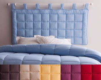 les 20 meilleures id es de la cat gorie t te de lit matelass e sur pinterest. Black Bedroom Furniture Sets. Home Design Ideas