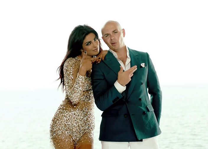 Priyanka Chopra, the Star of ABC's New Series Quantico, Was in a Music Video with Pitbull