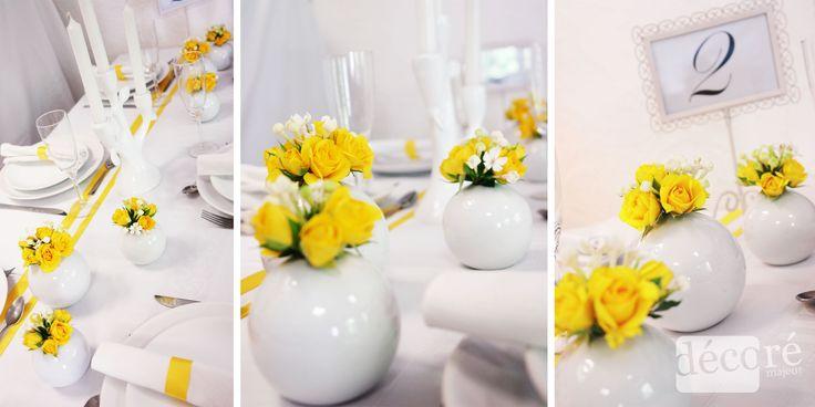Pour une belle décoration ensoleillée, quoi de mieux que le jaune? Et oui, les fleurs jaunes rayonnent tout comme le soleil, et cette couleur est synonyme de joie et de bonne humeur. Ce petit shoot…