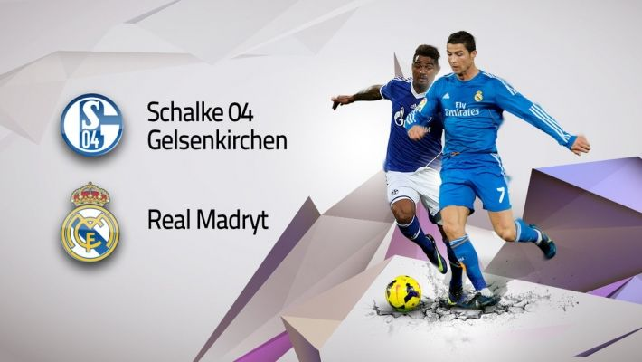 LM (1/8): Schalke 04 Gelsenkirchen vs Real Madryt