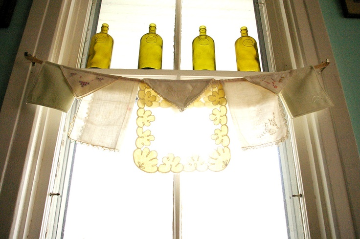 Kitchen Curtain One Of A Kind Window Valance Vintage