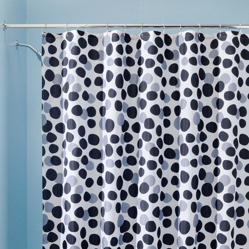 Shower Curtains black and blue shower curtains : 1000+ images about Black/White/Gray Shower Curtains on Pinterest ...