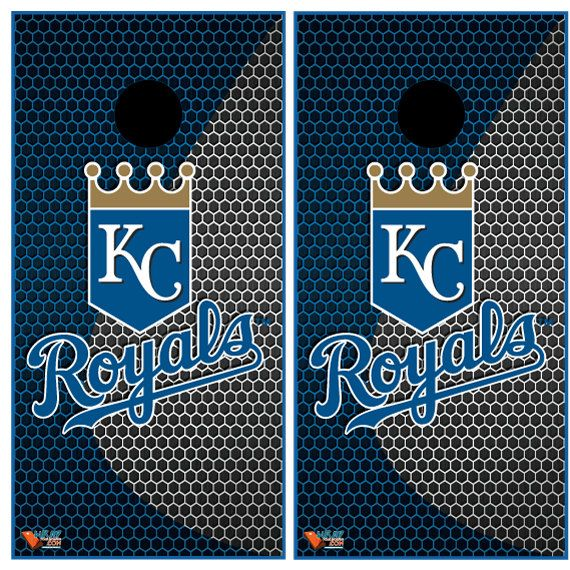 Kansas City Royals Cornhole Wrap by Wrapitandslapit on Etsy