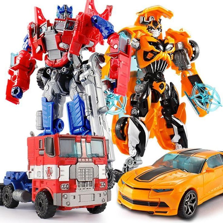 Hot sales 18.5cm Classic Transformation Robots Toys PVC Cars Robots Action Figur  | eBay