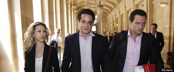 L'avocat de Jérôme Kerviel, David Koubbi, arrive au tribunal avec un œil au beurre noir et... Tristane Banon