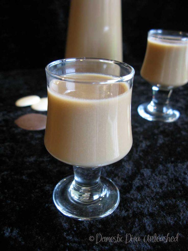 Domestic Diva: Whiskey Cream Liqueur