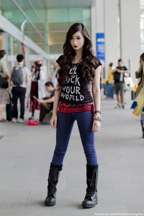 Rocker Style Wish I Was Skinny Enough To Pull It Off Hahaha Clothing Style Ideas Pinterest