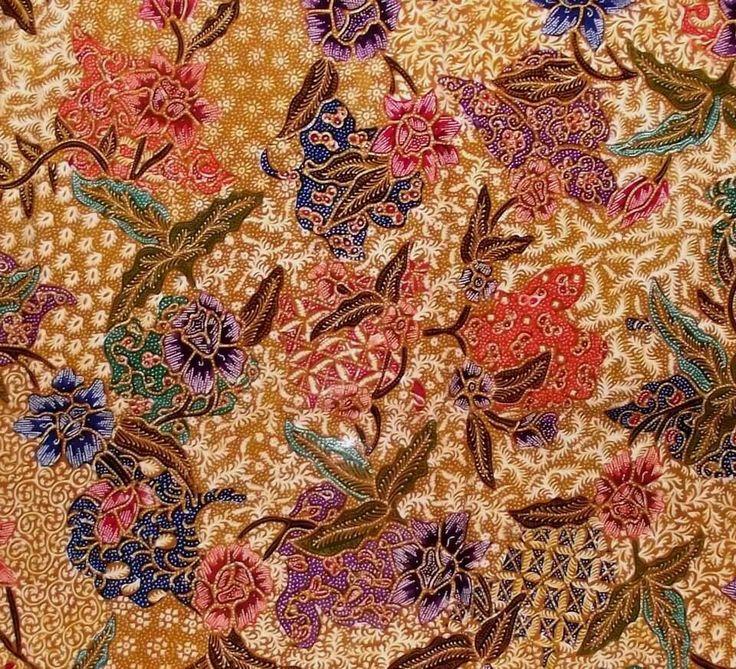 Hand-painted Batik Demakan Pekalongan