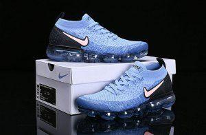 a47d411fcd8 Nike Vapormax 2. 0 Gym Blue Pink Black 942842-401 Men s Running Shoes