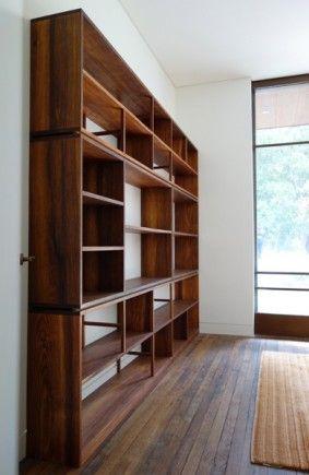 Tasmanian Blackwood shelves :: Nathaniel Grey, custom timber with new and recycled woods. www.nathanielgrey.com.au
