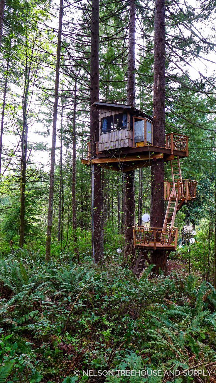 10 Enjoyable DIY Tree Houses Design For Your Kids and Family