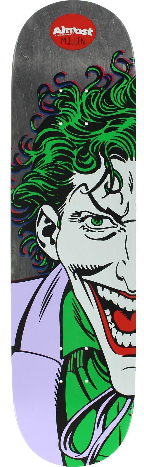 Almost Rodney Mullen Resin 7 Joker Splitface Skateboard Deck