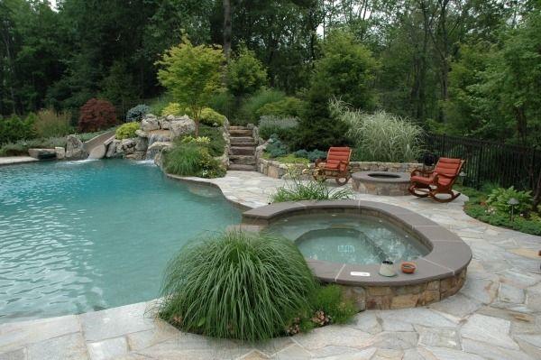 schwimmingpool planen spa zone schwimmteich und pool garten teich und wasser im garten. Black Bedroom Furniture Sets. Home Design Ideas