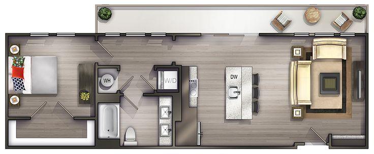 One Bedroom Apartments in Nashville TN | Floor Plans in ...