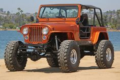 1983 Jeep CJ-7 Fully Restored and Custom Modified Show Condition