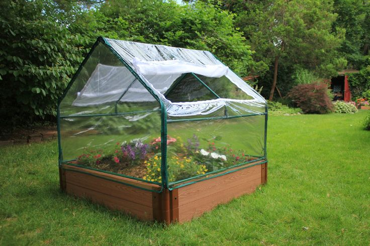 RaisedBeds.com - Greenhouse Cover for 4'x4' Raised Beds, $79.95 (http://raisedbeds.com/greenhouse-cover-for-4x4-raised-beds/)