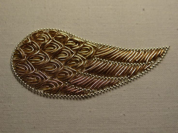 Goldwork wing