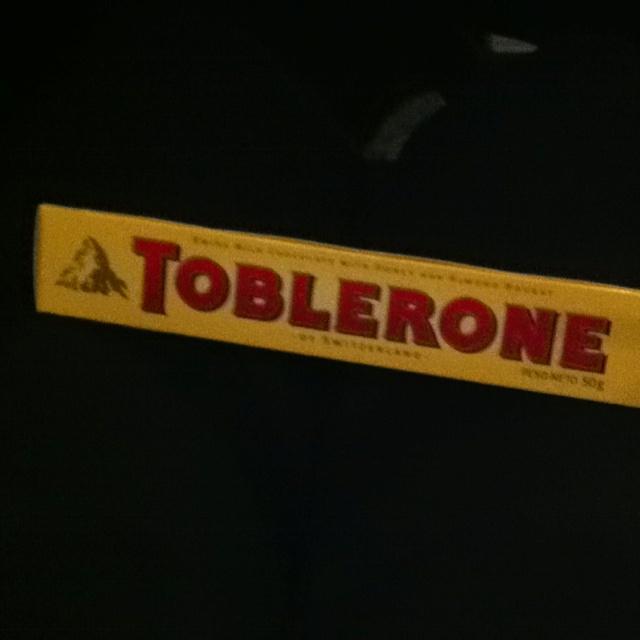 Cine + toblerone!