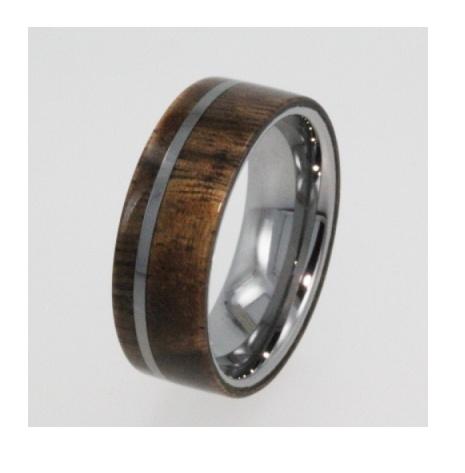 Mens Wedding Rings Wood Grain