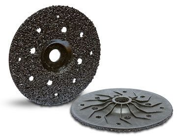 Sawtec-ZEK Abrasive Grinding Disks are long lasting, inexpensive, aggressive discs that are designed for removing mastic, epoxies, paint, urethane coatings, carpet glue and stucco off concrete. The silicon carbide material provides aggressive removal of coatings without loading up the disk.$54.99