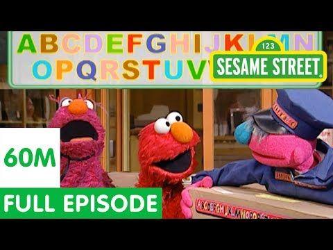 Elmo's Amazing Alphabet Race   Sesame Street Full Episode - YouTube