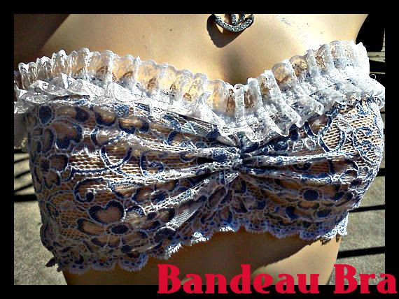 Bridal Lingerie Sexy Bridal Bra One of a kind by VoluptuouslyHip, $35.00