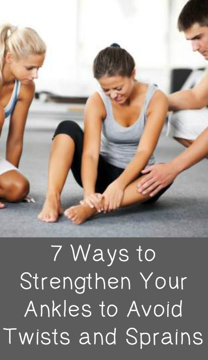 7 Ways to Strengthen Your Ankles to Avoid Twists and Sprains ~ http://positivemed.com/2014/12/22/7-ways-strengthen-ankles-avoid-twists-sprains/
