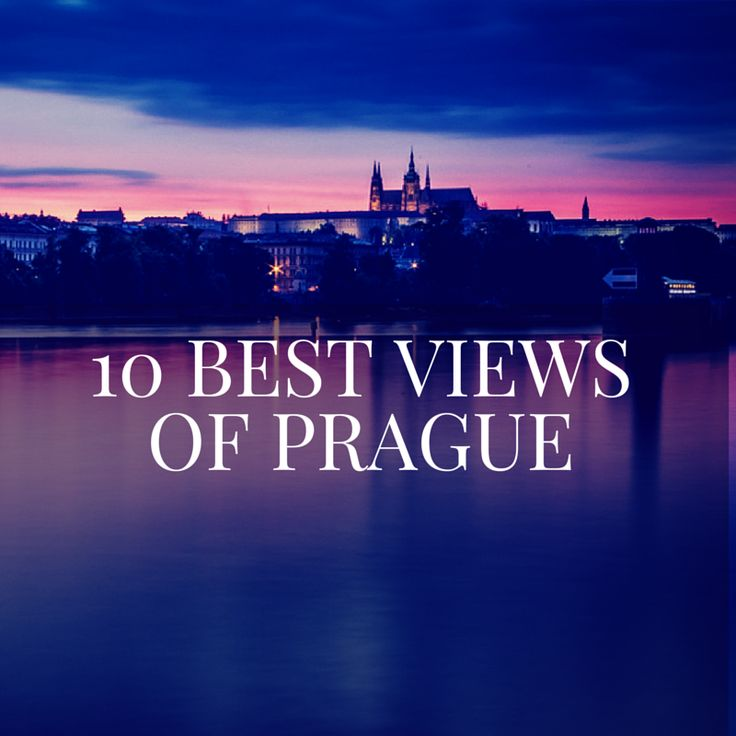 Things to Do in Prague: Our Picks for the 10 Best Views of Prague via @WanderTooth