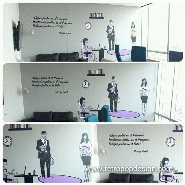 Decoracion en oficinas Cusezar S.A.