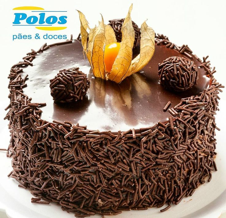 Torta de Brigadeiro #tortasPOLOS (em Polos Pães e Doces)