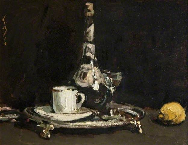 Coffee and Liqueur - Samuel John Peploe