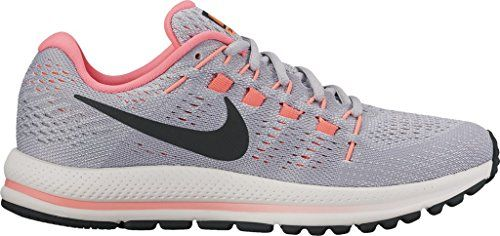 premium selection c9444 49695 Nike Womens Air Vomero 12 Running Shoe B(M) US, Wolf Grey Black-pure  Platinum-hot Punch)