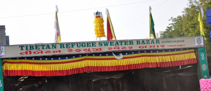 Every year the market attracts people of Ahmedabad, there is a lot of rush in Tibetan Refugee Sweater Bazaar till first week of February.