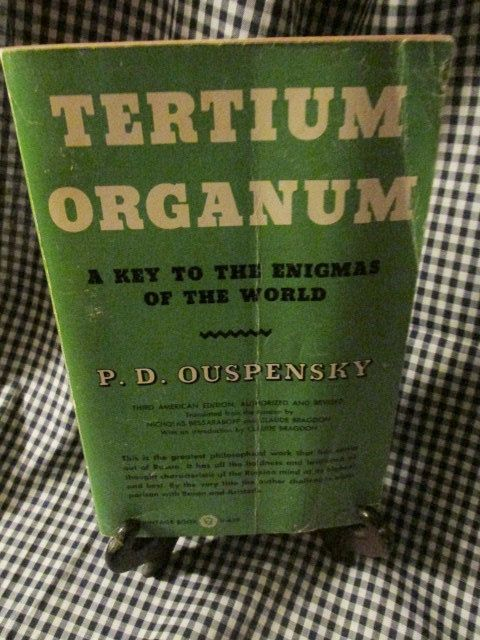 Tertium Organum-A key to the Enigmas of the World by TheBookE on Etsy