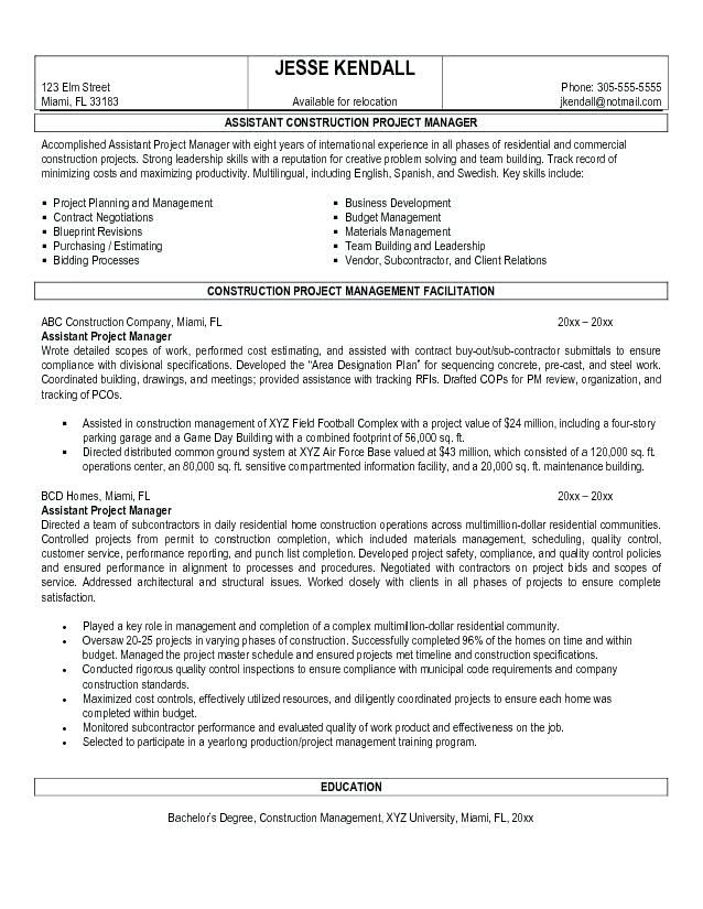 Year 6 Cv Template 2-Cv Template Project manager resume, Manager