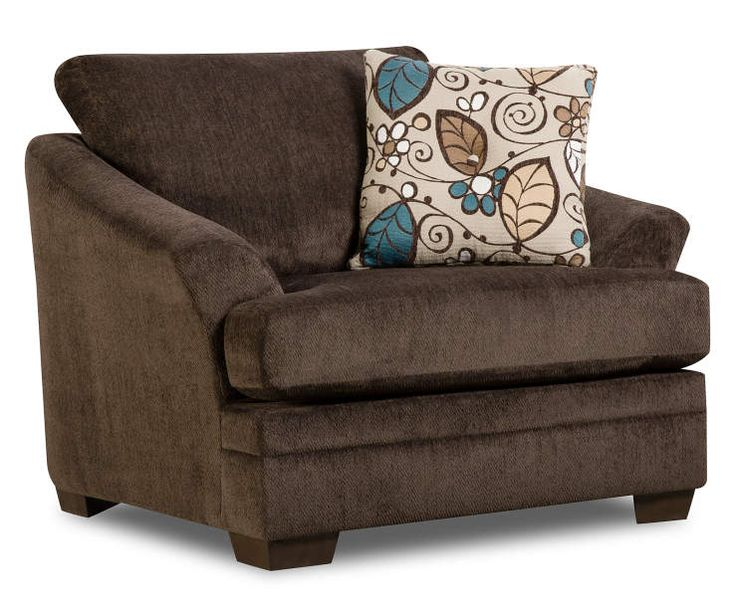 Best Sunflower Brown Chair And A Quarter At Big Lots Brown 400 x 300