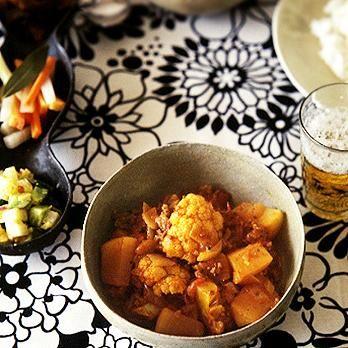 大根とカリフラワーのインドカレー   水野仁輔さんのごはんの料理レシピ   プロの簡単料理レシピはレタスクラブニュース