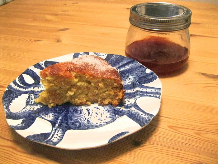 Quince, Cardamom and Ginger Cake