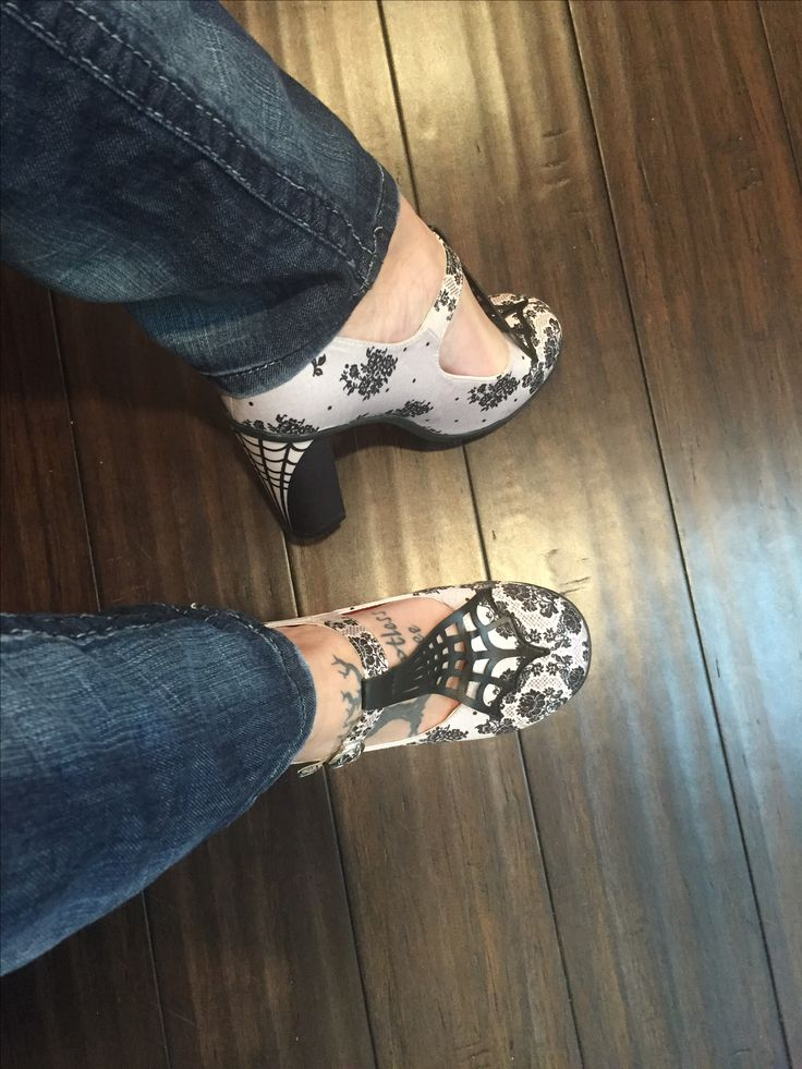 Mary Janes shoes , high heels